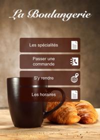 Site mobile Boulangerie