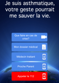 Site mobile Urgence