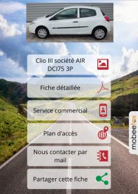 Site mobile automobile